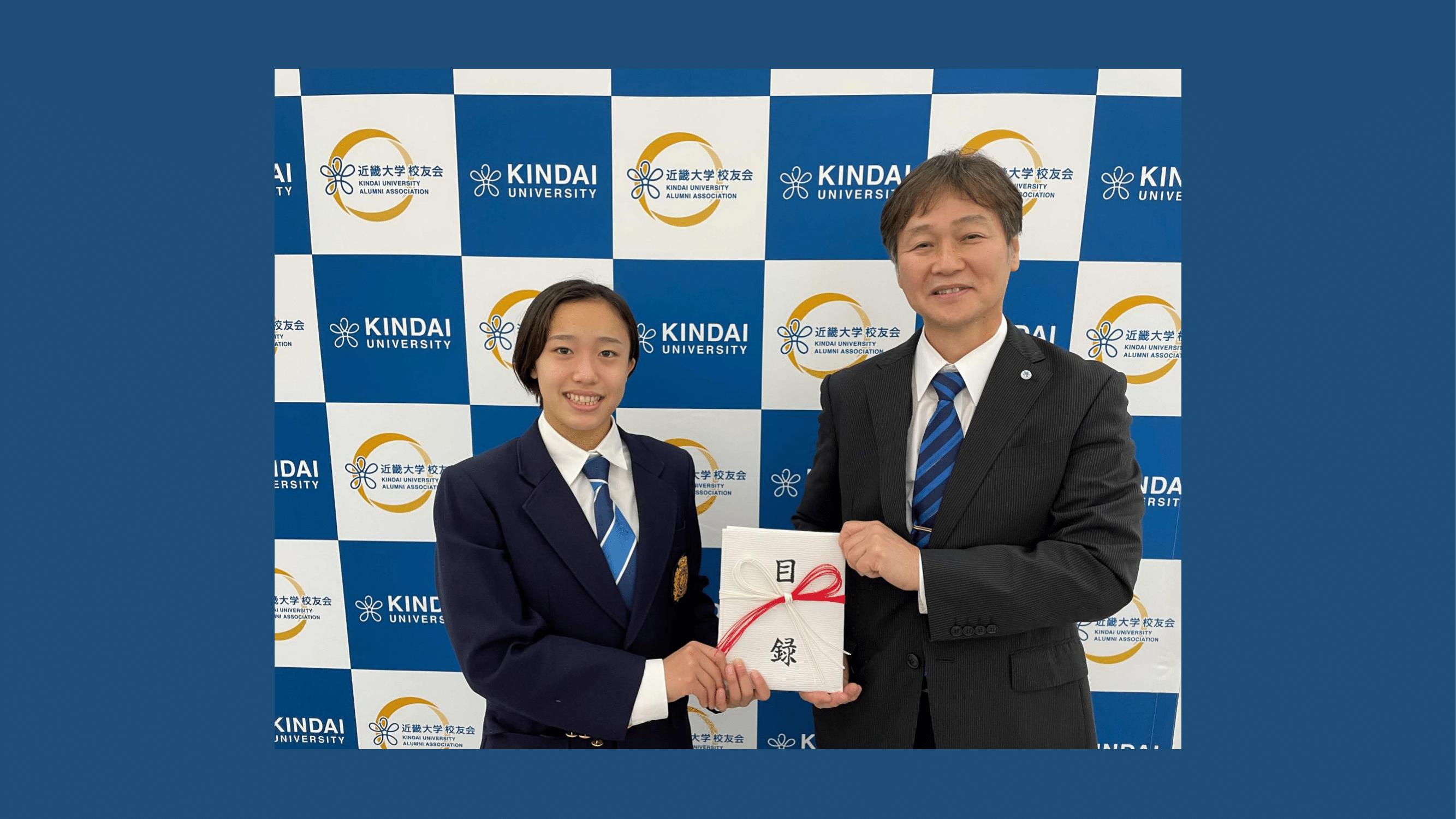 【ご報告】第96回 日本選手権水泳競技大会 女子シンクロナイズド3m飛板飛び込み優勝に伴う授与式について