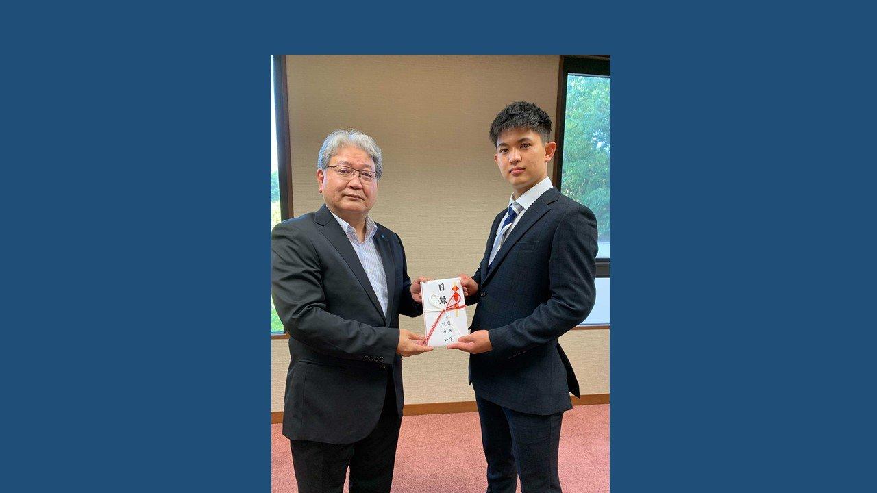 【ご報告】第65回 全日本学生空手道選手権大会 男子個人組手優勝に伴う授与式について